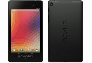 Nexus 7 2 press shot leaked, confirming overall design and rear-facing camera