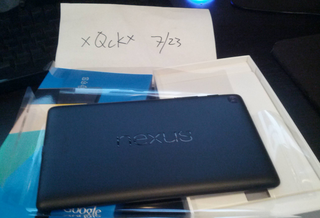 Nexus 7 2 lands in one lucky Reddit user's hands early
