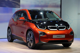 bmw i3 the ultimate driving machine is now electric with a carbonfibre body image 4