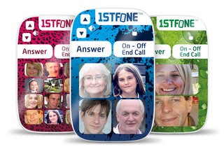 Ownfone makes its kid-friendly 1stFone even more kid-friendly with images instead of numbers