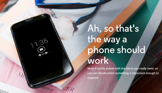 Motorola releases ad for Moto X, showing 'Quick Capture' and voice functionality