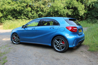 mercedes benz a45 amg pictures and hands on image 2