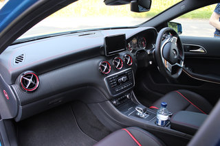 mercedes benz a45 amg pictures and hands on image 9