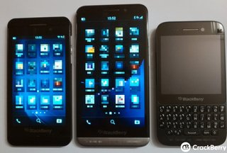 High-end BlackBerry Z30 leaked alongside Z10 and Q5, includes five rows of apps