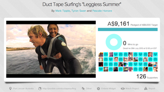 Website of the day: Duct Tape Surfing