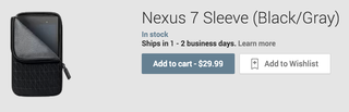 nexus 7 sleeve lands on google play for 29 but costs 18 to ship image 3