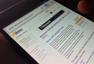 Amazon SNS service launches, simplifies push notifications across platforms