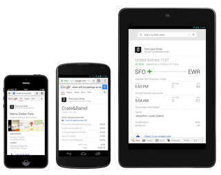 Google Search adds Now's voice search for info in Gmail, Google Calendar and Google+