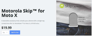 motorola unveils skip accessory for moto x unlocks device with a single tap for 19 99 image 2