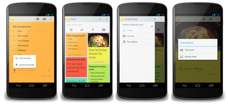 google keep note taking app adds reminders navigation drawer and more image 2