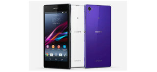 Sony Xperia Z1 press render leaks in black, white and purple with plenty of bezel