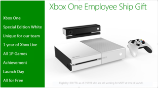 exclusive white xbox one heading to microsoft employees for free image 2