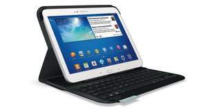 Logitech unveils keyboard and Protective Folio cases for the Samsung Galaxy Tabs