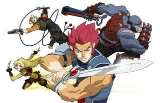 Thunder, Thunder, Thundercats lead all-star superhero cast as Lovefilm signs deal with Warner