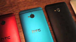 HTC One blue hands-on