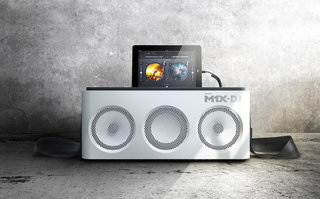 Philips M1X-DJ sound system rocks on to the scene, iPad dock and mixing decks in one