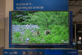 Panasonic Viera WT600 pictures and eyes-on: top-spec 4K telly delivers the goods