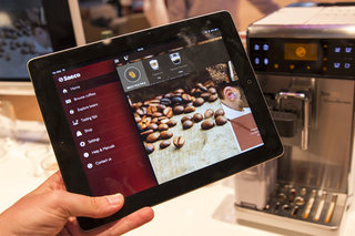 'Smart coffee' via iPad: We make our favourite cup using a Saeco GranBaristo Avanti Bluetooth prototype