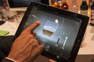 smart coffee via ipad we make our favourite cup using a saeco granbaristo avanti bluetooth prototype image 5