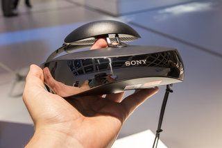 Sony HMZ-T3W head-mounted display hands-on: wearable tech takes a turn towards madness