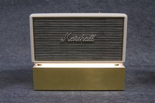 Marshall Stanmore compact active stereo speaker system rocks our ears