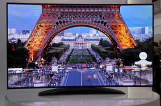 LG 77-inch 4K Ultra HD OLED TV pictures and eyes-on: Stunning