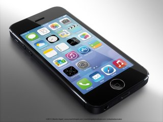 Lord of the Ring: iPhone 5S fingerprint scanner portrayed in mock up