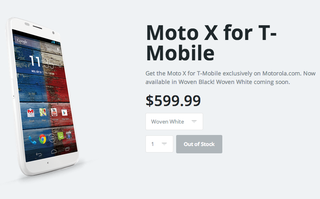 US T-Mobile now carries Moto X - but through Motorola's website