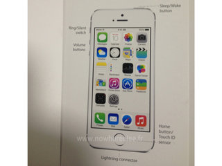iPhone 5S fingerprint reader, called Touch ID sensor, appears ahead of tonight's Apple launch