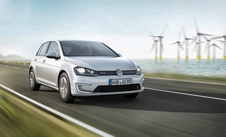 vw unveils electric e golf and e up cars with 190 km range and 2 76 100 km running cost image 2