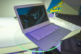 HP Chromebook 14 hands-on, we check out the colourful late 2013 Intel Haswell model