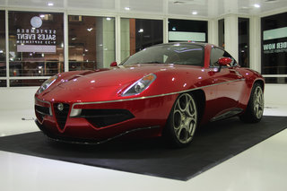 Alfa Romeo Disco Volante by Touring Superleggera pictures and hands-on