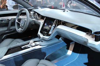 volvo concept coupe hands on the new face of sweden s finest image 10
