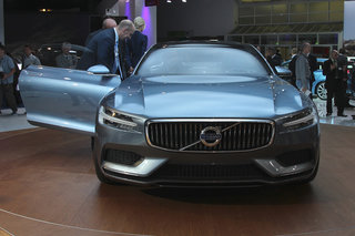 volvo concept coupe hands on the new face of sweden s finest image 5