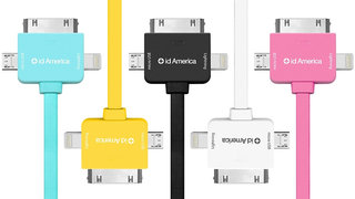 The CrossLink is the last charge cable you'll ever need: Lightning, 30-Pin, Micro USB