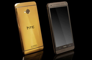 Rumoured 'official' gold HTC One coming to Russia is Gold Genie custom job