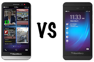 BlackBerry Z30 vs BlackBerry Z10: What's the difference?