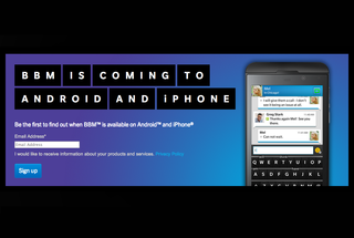 BBM for Android to land 21 September, BBM for iPhone on 22 September