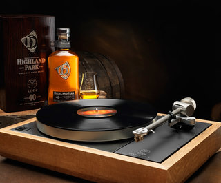Linn's Sondek LP12 turntable costs £25,000, but it's made from Highland Park whisky casks