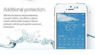 iOS 7 waterproofing spoof fools users, destroyed iPhones result