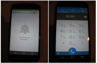 Android 4.4 KitKat user interface allegedly leaks