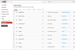YouTube Audio Library launches with free music for you to use anywhere