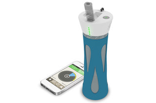 BluFit smart water bottle tracks your drinking habits and guides you to perfect hydration