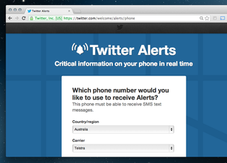 Twitter Alerts launches, delivers helpful notifications during emergencies