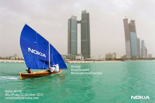 Nokia plans six device announcements at Nokia World in Abu Dhabi