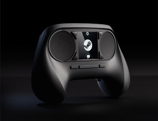 Valve shows off Steam Controller, a touchscreen gamepad with dual trackpads
