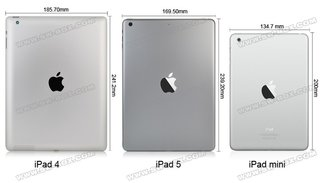 Video examines leaked iPad 5 parts compared to iPad 4, showing changes