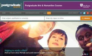 Website of the day: Postgraduate Search
