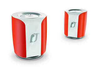 Damson Jet compact speakers deliver wireless stereo sound via Bluetooth