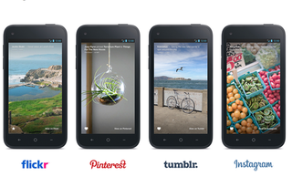 Facebook adds Flickr, Pinterest, Tumblr and Instagram to Facebook Home